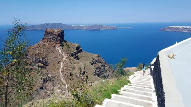 Santorini skaros